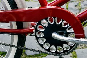 How to Avoid Bike Grease Stains