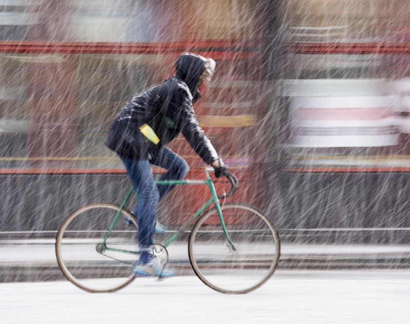 The Possible Hazards of Winter Cycling