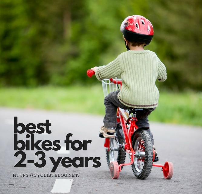 Best Bike for 2-3 Year Old in 2017 Review