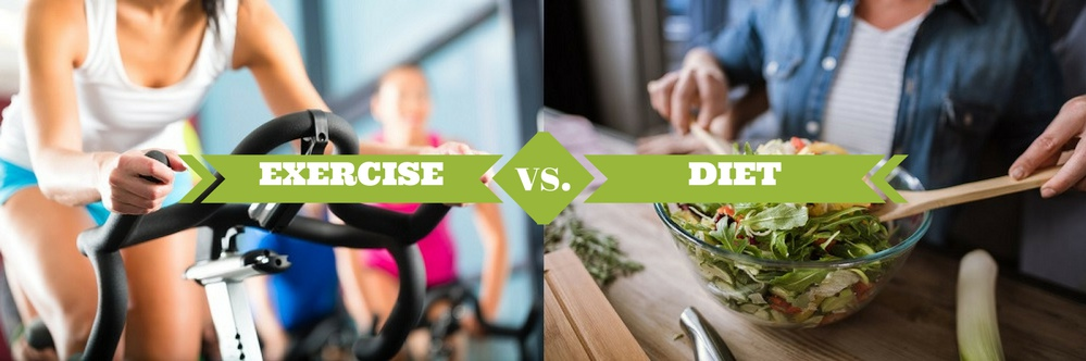 Exercise vs. Diet: Fight Fat with Food and Fitness